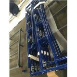 Голубые поверхностные леса/ремонтина системы рамки Walkthrough для конструкции