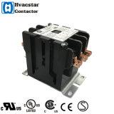 Contactor mencionado del DP del aire/acondicionado de la UL contactor de 3 fases
