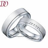 Fascia di cerimonia nuziale di titanio pura dell'anello del nuovo di modo commercio all'ingrosso della fabbrica