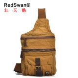 Redswan ha lavato la cassa dello zaino dell'imbracatura unisex più poco costosa della tela di canapa (RS-2153)