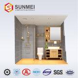 L'aluminium panneau alvéolé préfabriqués Armoires de salle de bains avec douche pour la vente