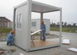 Сборные дома/сегменте панельного домостроения в дом/мобильный контейнер для трудовой лагерь/отель/Управление
