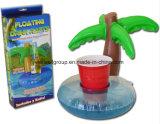 Tazza gonfiabile del coke della bevanda dei giocattoli dell'acqua della palma della noce di cocco del PVC