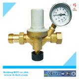Латунные заправочный клапан с манометром 2-4бар, регулятор давления газа, Латунный корпус клапана BCTFV02