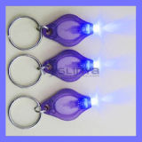 White Purple UV Highlight La plus petite clé de voiture mini LED Lightlight Lightlight