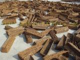 مجموعة من 2 [فلوور بوت] مستديرة خشبيّ
