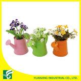 고대 둥근 화분 또는 물은 정원 또는 가정 훈장을%s 할 수 있다