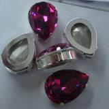 宝石類の見つけることのための高品質ポイント背部水晶石(3003)