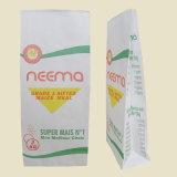 Zwei Schichten Packpapier-Beutel-für Weizen-Mehl, Mais-Mahlzeit-Verpacken