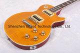 DIY Lp Guitar Kits / 1959 R9 Tiger Flamed Top Lp guitarra eléctrica (BPL-68)