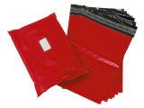 Cuatom Red Color T-Shirt Plastic Bag