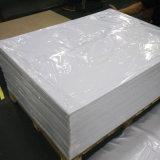 Il PVC rigido bianco a tenuta di luce UV del Matt di stampa in offset riveste lo spessore di 0.35mm