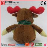 Het Rendier van het Stuk speelgoed van de Pluche van de Dag van Kerstmis