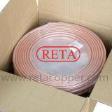 Tubo de cobre rollo de cobre de refrigeración