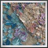 網の刺繍のレースのテュルの刺繍のレースポリエステル刺繍のレース