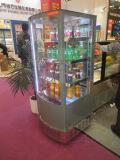 수직 투명한 Multideck 음료 진열장