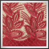 Elegantes Polyester-Tulle-Stickerei-Spitze-Gewebe