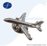 ギフトのための3D飛行機の金属のバッジ