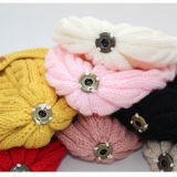 Вязаные зимние шапки Beanie с POM POM меховые шапки