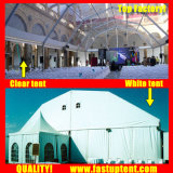 2018 алюминия ПВХ полигон в рамке на крыше палатки для открытия недвижимости 1200 человек местный гость