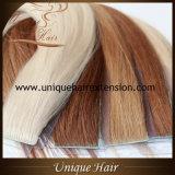 Estensioni di trama dei capelli della pelle brasiliana del Virgin