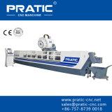 Centro de mecanización triaxial del CNC que muele
