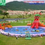 Надувные аттракционы водный парк, надувные водные горки бассейн игры (BJ-WT11)