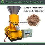 Pequena máquina móvel de pelotização para processamento de madeira de lixo florestal