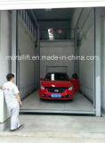 Elevación vertical de la plataforma del coche para el garage