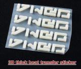 Espessura de 3D de alta qualidade autocolante de Transferência de Calor
