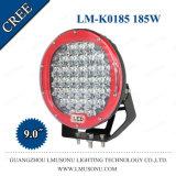 9 CREE brillante estupendo de la luz del trabajo del vehículo de la pulgada 185W del barco campo a través LED del carro