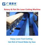Machine de découpe laser Combo meurent pour plat et cartes rotatif