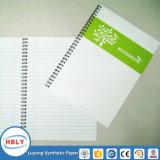 Cuaderno de papel de piedra de los libros de texto