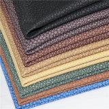 Cuoio sintetico del PVC di buona qualità per il sofà (B-801-1)