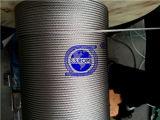 Câble métallique d'acier inoxydable 304 7X7-3.18mm
