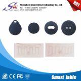 Etiqueta impermeable material vendedora caliente del lavadero del ABS RFID del PPS