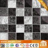 Glodenホイルのシャワー室の壁のガラスモザイク(G848014)