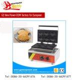 máquina coreana del fabricante de la galleta de los pescados 6PCS del equipo del abastecimiento
