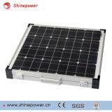 Kit de painel solar dobrável de 80W para o acampamento