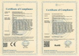 CCTV impermeable compresión adaptador BNC macho para cable RG59 (TC5078S/RG59).