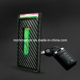 Высокое качество шаблон из углеродного волокна PU кожаный кошелек держателя карты для бизнеса