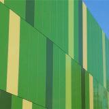 Grünes Aluminiumbienenwabe-Bambuspanel für Aluminiumfassade