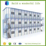 Ontwerpen van de Verhoging van het Huis van de Villa van het Huis van het Frame van het staal de Houten Eenvoudige