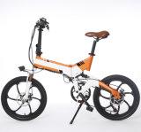 [14ينش] [48ف] دراجة [فولدبل] كهربائيّة مع [أل] سبيكة مادة