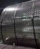aluminium geruite plaat met 5 stavenpatroon