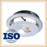 Valvola a disco concava dell'aria dello sfiato del piatto per il soffitto o il condotto