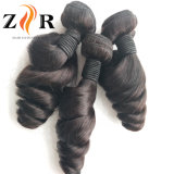 Onda solta o cabelo humano Virgem brasileira não transformados pêlos de tecelagem