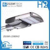 Indicatore luminoso di via da 80 watt LED con il driver di Dali Dimmable LED 5 anni di garanzia