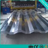 Il metallo d'acciaio ondulato di colore di CGCC riveste il tetto dei rivestimenti/pareti di pannelli