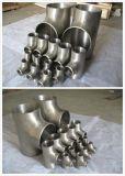 La pièce en t convenable de bride de l'aluminium B210 7075 réduisent